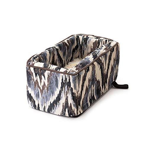 Parchment Console (Snoozer Luxury Console Pet Car Seat, Large Luxury, Cafe/Parchment)