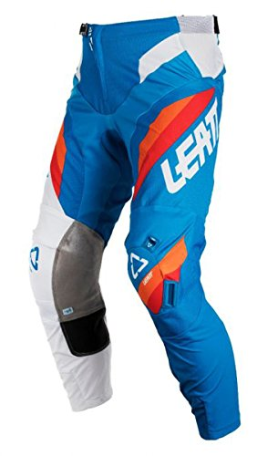 Leatt GPX 3.5 Youth Boys Off-Road Motorcycle Pants - Blue/White/Size 26 by Leatt Brace