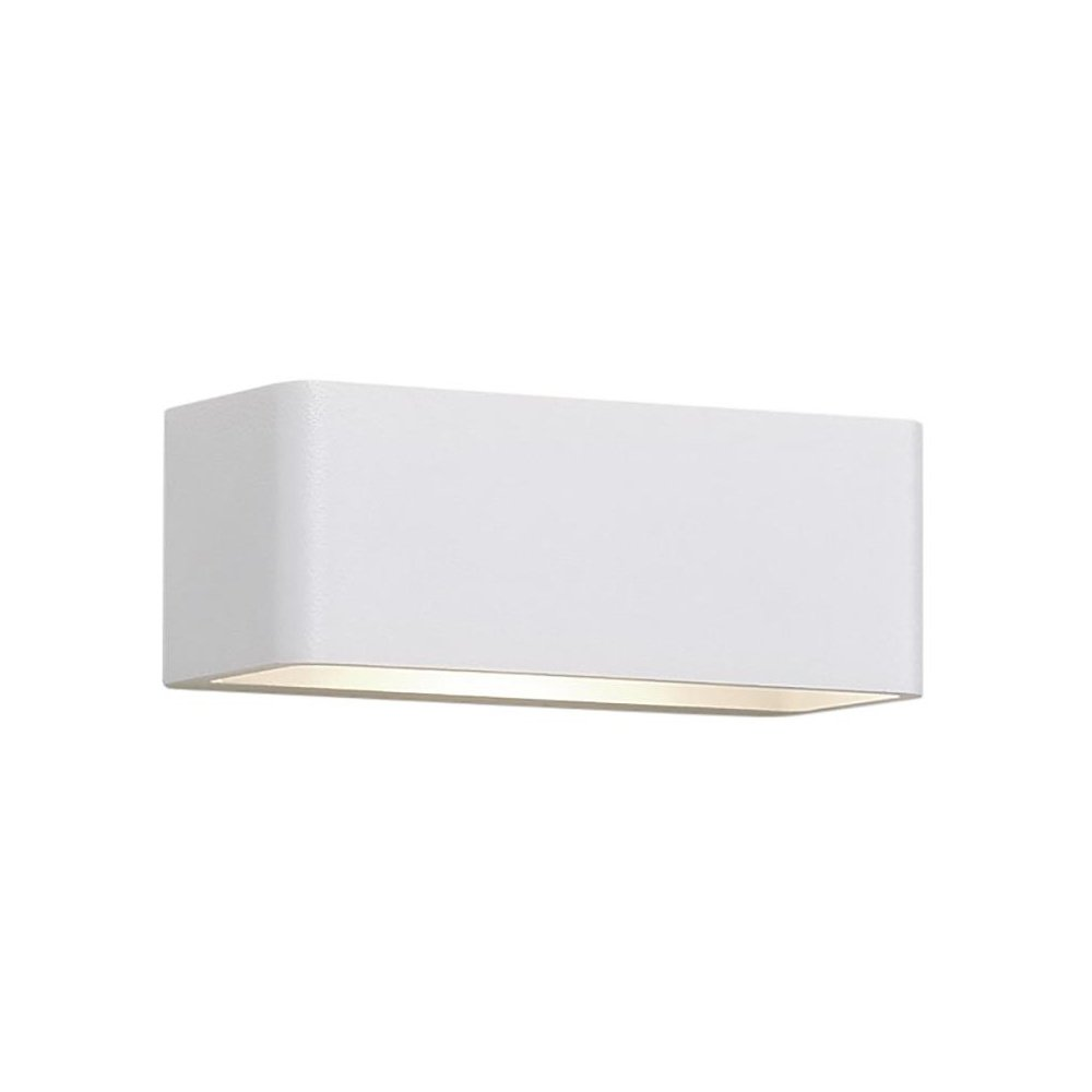 Deltalight Gala Wandleuchte, weiß 14,8x6,5x5,5cm