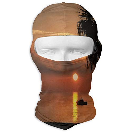 Balaclava Palm Trees Sunset One Hot Full Face Masks UV Protection Motorcycling for -