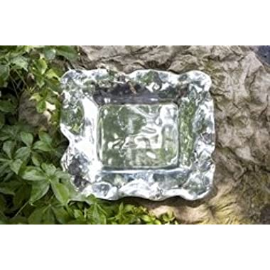 Beatriz Ball Vento Rectangular Alloy Hand-Made Tray