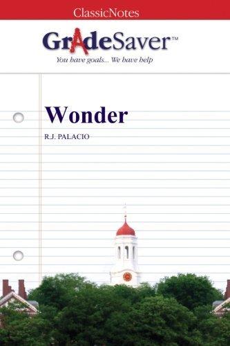 Wonder Quotes and Analysis | GradeSaver
