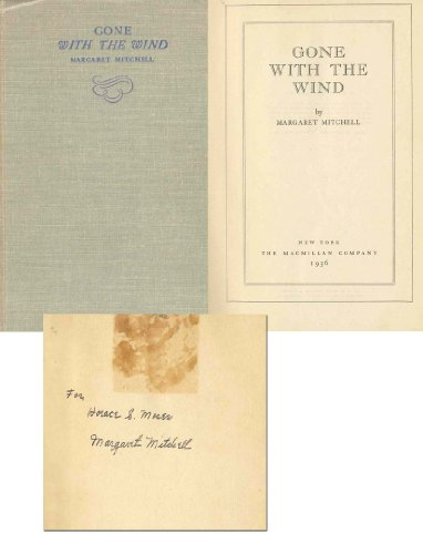 a literary analysis of gone with the wind by margaret mitchell Making gone with the wind throughout the late 1920s and early 1930s margaret mitchell december 1999 gone with the wind and hollywood's racial politics.