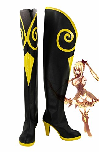 Fairy Tail Lucy Cosplay Shoes Sagittarius Boots Custom Made 1Qivh