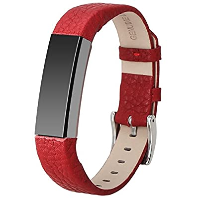 Replace Fitbit Alta Leather Bands for Fitbit Alta Smart Watch.Apply the Wristband Package