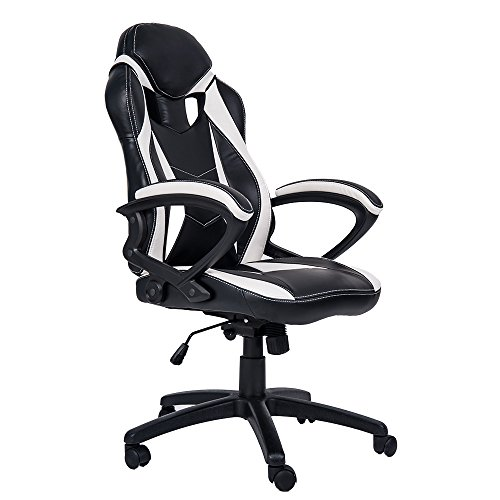 Amazon Com Merax Ergonomic Gaming Chair Racing Style