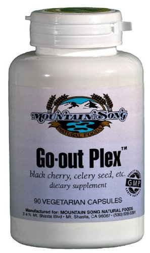 Gout Relief Formula with Black Cherry Fruit Extract, Celery Seed Extract, Bromelain and Turmeric Root- Gout Treatment Supplement Contains Herbs that Studies Show help to Lower Uric Acid Levels, Reduce Inflammation and Reduce Outbreaks and Gout Pain, Health Care Stuffs