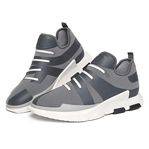 Mr. LQ - Zapatos corrientes de la manera ocasional del hombre Gray
