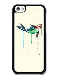 MMZ DIY PHONE CASEAMAF ? Accessories Goldfish Watercolor Original Art case for iphone 5c