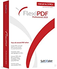 FlexiPDF Professional - OCR PDF Editing Software - 3 USER for your Windows 10, 8.1, 7 PC - the ultimate PDF ed