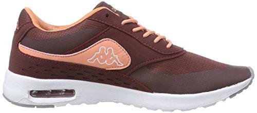 Darkred Sneakers Coral Rot Milla 2529 Damen Kappa wxqXHRB4X