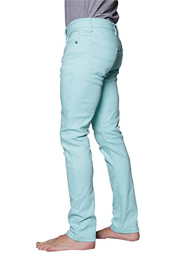 Victorious Men's Skinny Fit Colored Jeans DL937 - MINT