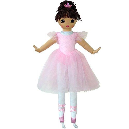 (Anico Well Made Play Doll for Children La Bella Ballerina, Hispanic, 36