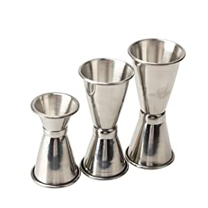 Sonline 3PCS Stainless Steel Cocktail Drink Mixer