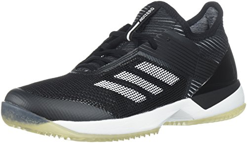adidas Women's Adizero Ubersonic 3 w Clay Tennis Shoe, White/core Black, 10 M US