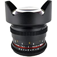 Rokinon CV14M-NEX 14mm T3.1 Cine Super Wide Angle Lens for Sony E-Mount Cameras44; Pack of 1
