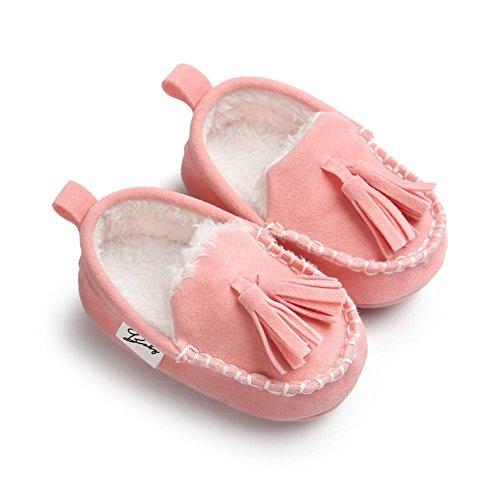 Moresave - botas de nieve Bebé-Niños Rosa