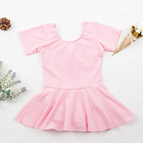 LoLa Ling s Leotards Gymnastics Summer ren Cotton Short Sleeve Ballet Leotard Tutu Skirt Dance Wear Ballet Dresses for Girls