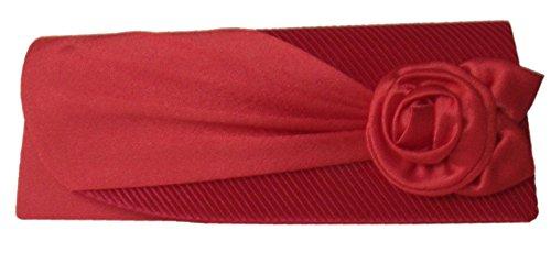 DIVA-MODE, Poschette giorno donna Rosso rosso