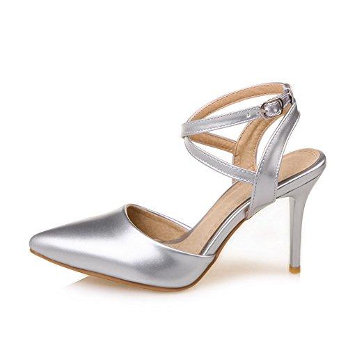 Fashion HeelSandal - Zapatos de tacón  mujer plateado