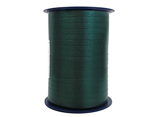 CRIMPED CURLING RIBBON Hunter Green 3/16 500 YDS Roll