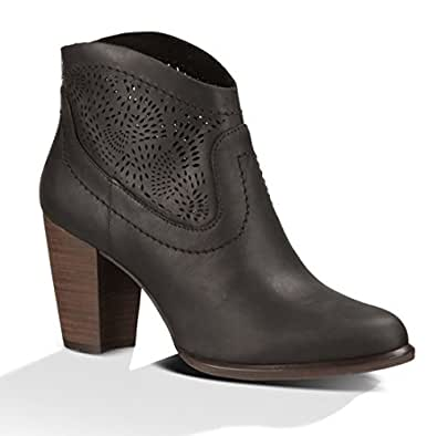Amazon Com Ugg New Women S Charlotte Seaweed Perf Ankle