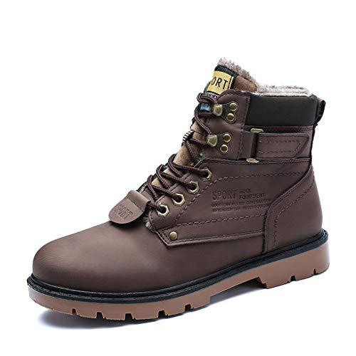 torcycle Boots Autumn Winter Non-Slip Waterproof Snow Combat Boots ()