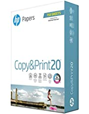 HP Printer Paper Copy&Print 20lb, 8.5x11, 1 Bulk Pack, 750 Total Sheets, Made in USA From Forest Stewardship Council Certified Resources, 92 Bright, Acid Free, Engineered for HP Compatibility, 200030R