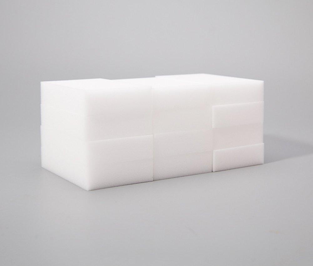 Baoer 200Pcs/lot ERASER CLEANER MAGIC MELAMINE SPONGE CLEANING 10x6x2CM elegantstunning SYNCHKG040815