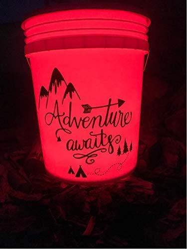 lighted camping bucket