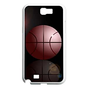 case Of Basketball Customized Bumper Plastic Hard Case For Samsung Galaxy Note 2 N7100