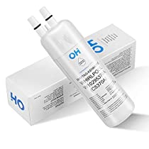 OH W10295370A Refrigerator Water Filter Compatible with Whirlpool W10295370, Kenmore 46-9930,Pur Filter 1, EDR1RXD1 (White, 1 Pack)