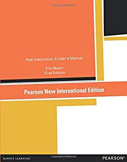 peer instruction a user s manual amazon co uk eric mazur rh amazon co uk User Manual Projects ResMed S9 User Manual