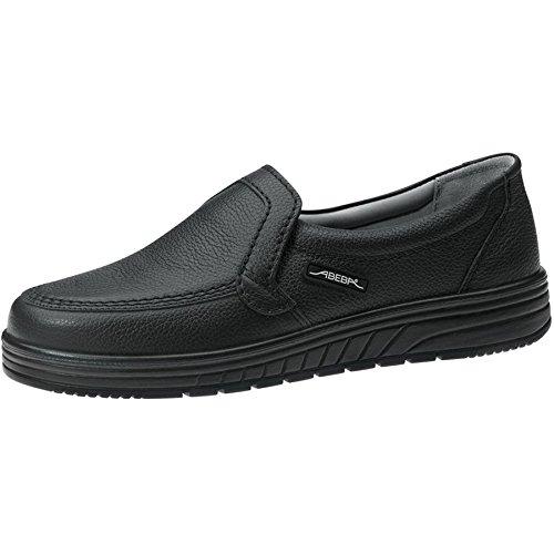 Abeba 2710 – 39 Air Cushion zapatos Mocasín, Negro, 2710-47 Taille 47