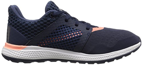 adidas Performance mujer de energía Bounce 2.0 Zapatilla de Running Collegiate Navy/Night Navy/Sun Glow Yellow