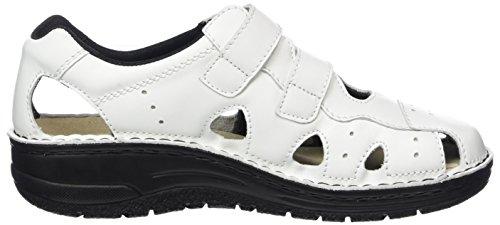101 Larena weiß Mujer Zapatillas Berkemann Para Blanco pYqdx8