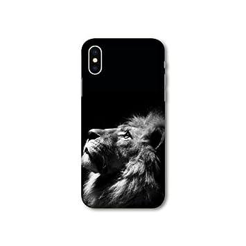 coque iphone xr roi lion silicone