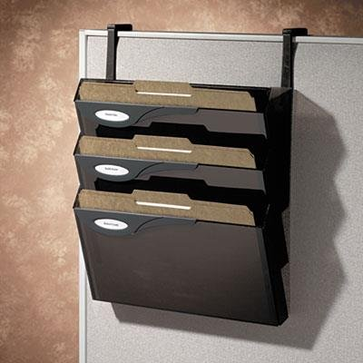 (Rubbermaid Classic Hot File 4-Pocket Hanging Files for Partitions, Legal/Printout (16783))