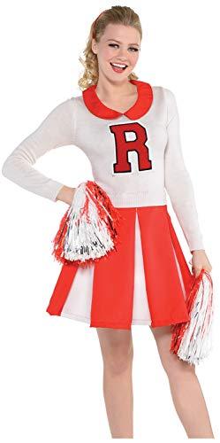 Ladies 1950s 50s Shy Cheerleader TV Movie Film Hen Do Night Party Carnival Fancy Dress Costume -