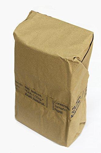 Bolsa para café papel Kraft 500gr
