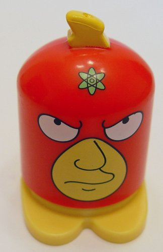2013 Burger King Simpson Super Heroes Homer Radioactive Man