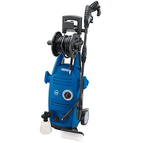 DRAPER 834071900W 230V Hochdruckreiniger mit Total Stop Funktion–Blau