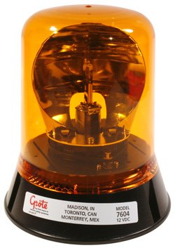 Grote 76043 Belt Drive Rotating Beacon (Permanent Mount)