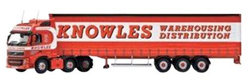 1/50 ボルボFH(フェイスリフト) カーテンサイドトレーラー `Knowles` CC14034