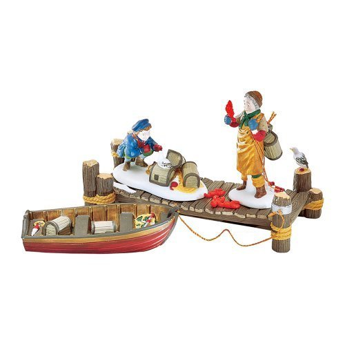 Lobster Trappers (Set of 4)? Department 56 (Retired) by Department 56