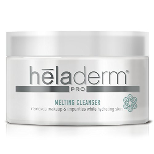 Advanced 3-in-1 Facial Cleanser, Natural Cleansing Balm to Remove Dirt, Makeup & Waterproof Mascara. Super Hydrating, Moisturizing with Almond Oil, Coconut Oil, Shea Butter, Vitamin E, Heladerm 3.3oz