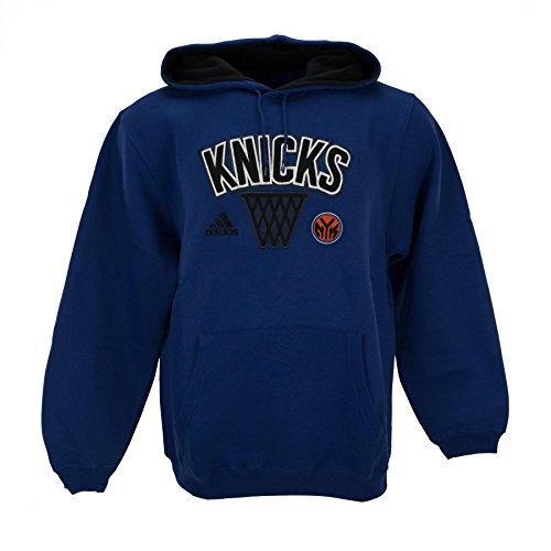 New York Knicks NBA 13 Embroidered Playbook Hoodie Sweatshirt by Adidas - Hoody Playbook