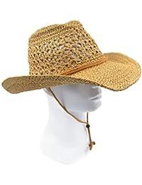 Adult Sun Straw Western Cowboy Hat
