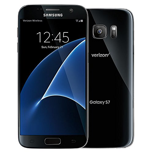 Samsung Galaxy S7 G930V 32GB, Verizon, Black Onyx, Unlocked Smartphones (Certified Refurbished)