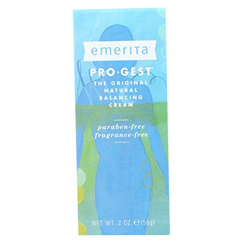 Pro-Gest Paraben-Free Cream - 2 oz (56 Grams) by -